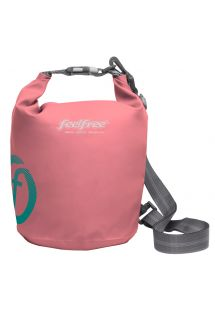 Pink waterproof bag 5 L - DRY TUBE 5L ROSE