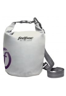 White waterproof bag 5 L - DRY TUBE 5L WHITE