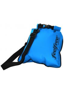 Waterproof blue shoulder bag 5L - INNER DRY FLAT 5L SKY BLUE