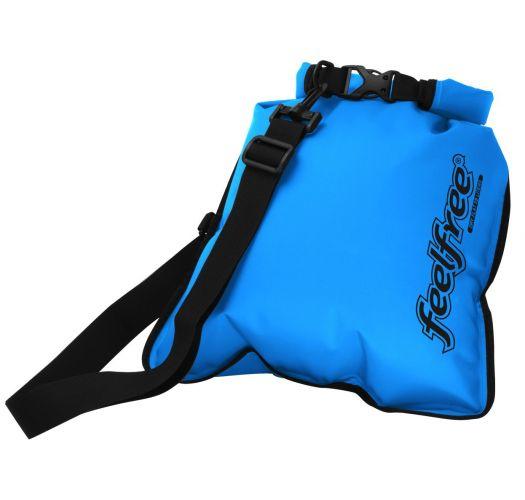 Waterproof blue shoulder bag 5L - INNER DRY FLAT 5L SKY BLUE