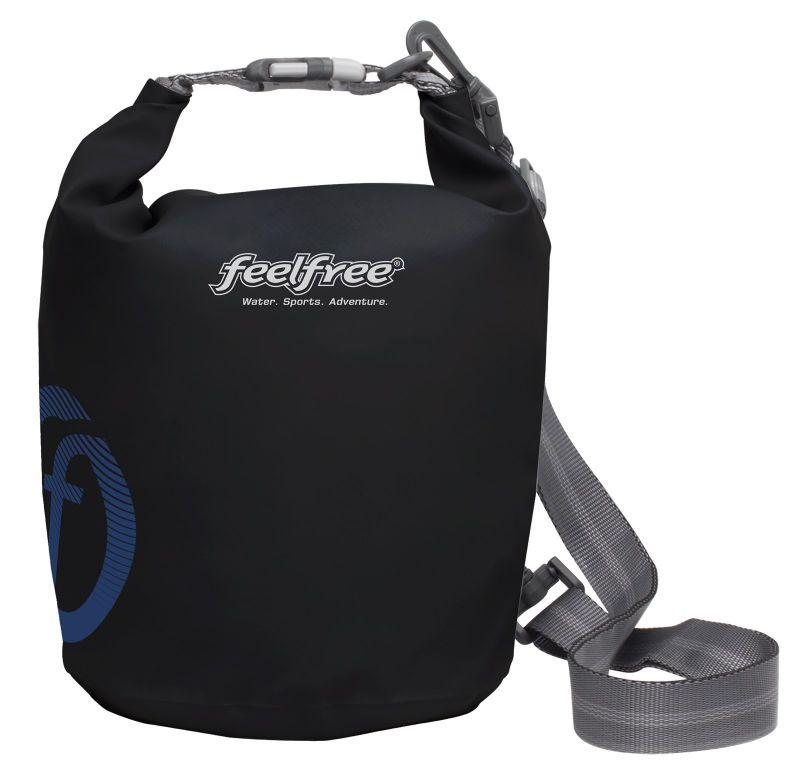 Black waterproof bag 3 L - TUBE MINI 3L BLACK