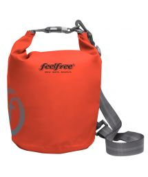Orange waterproof bag 3 L - TUBE MINI 3L ORANGE