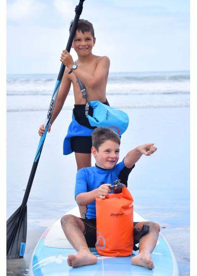 Orange vattentät väska 3 L - TUBE MINI 3L ORANGE