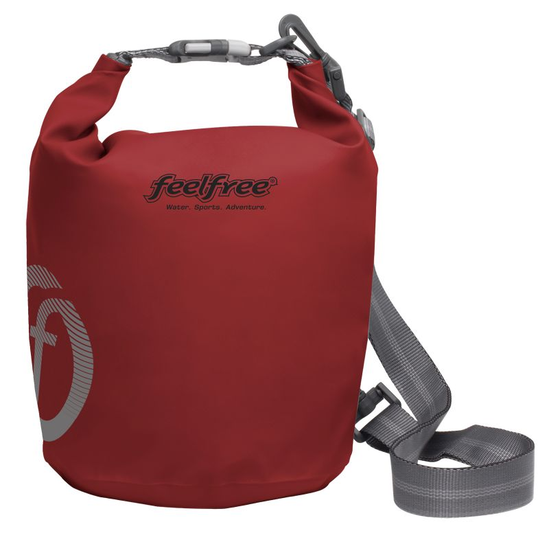 Red waterproof bag 3 L - TUBE MINI 3L ROUGE