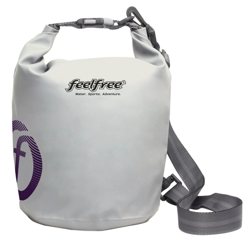 White waterproof bag 3 L - TUBE MINI 3L WHITE