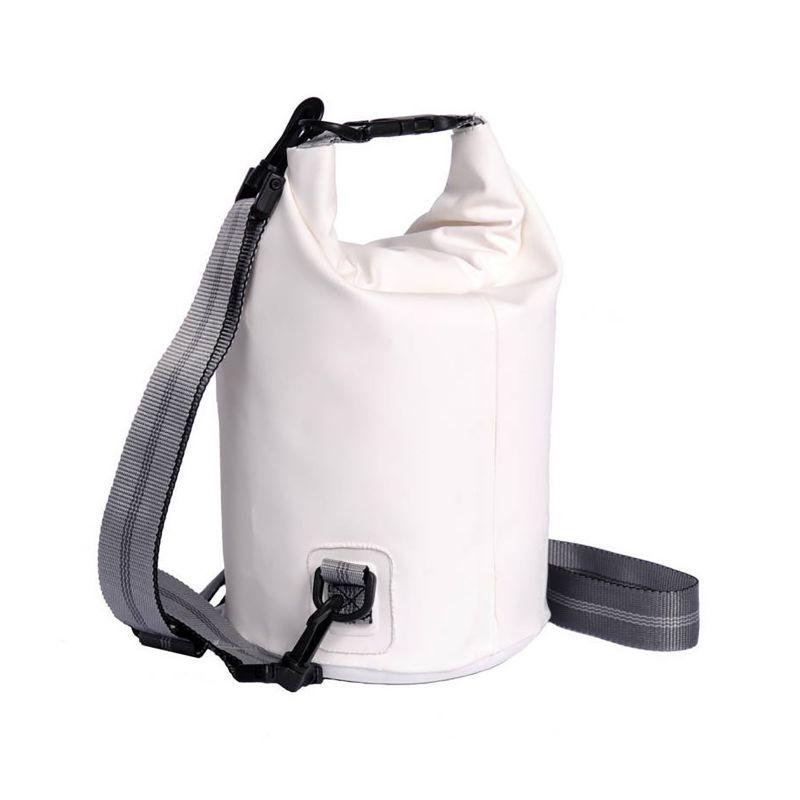 Vit vattentät väska 3 L - TUBE MINI 3L WHITE
