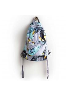 Print backpack that can be rolled into a small pocket size - PRIMAVERA SPORT BAG