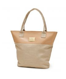 Colorful  braided beach bag - DUNES