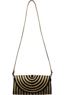 MINI SAC SALINA BLACK AND WHITE