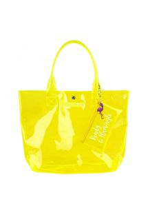 MARKET BAG NEON YELLOW