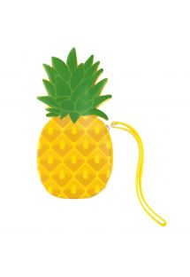 Waterproof silicone pineapple pouch - PINEAPPLE COIN POUCH