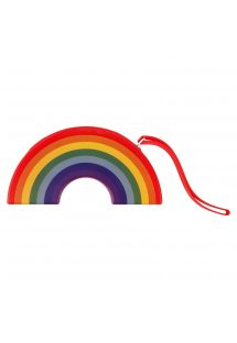 Borsello arcobaleno di silicone resistente all'acqua - RAINBOW COIN POUCH