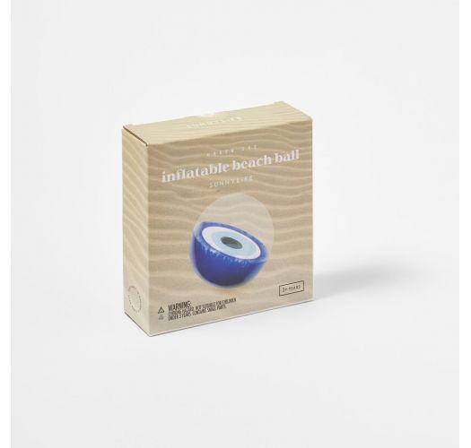 INFLATABLE BEACH BALL GREEK EYE