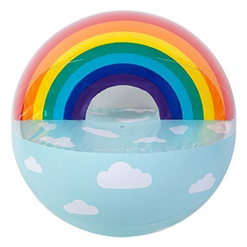 Inflatable ball with rainow - BALL XL RAINBOW