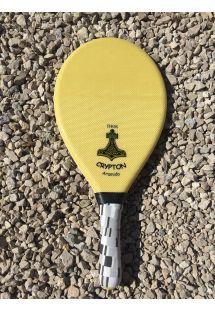 Arid fiber professional frescobol racket - THOR FIBRA DE ARAMIDA