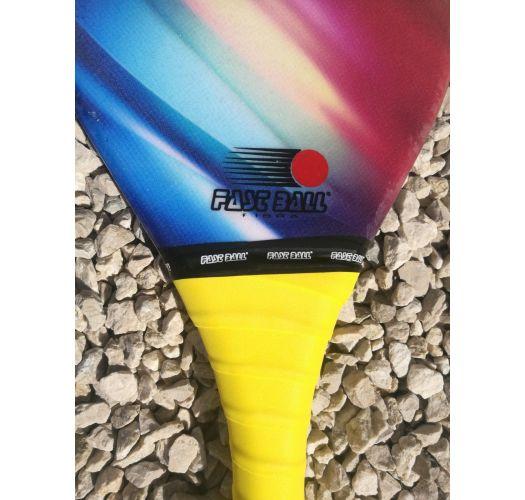 Frescobol racket, mångfärgad gradient - RAQUETE COLORIDA