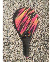 Frescobol racket colorful graphics - RAQUETE LISTRADA