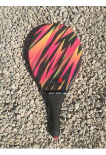 Frescobol racket colorful graphics - RAQUETE LISTRADA