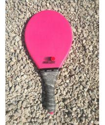 Frescobol racket Fibra line in pink - RAQUETE ROSA