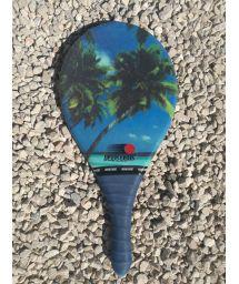Frescobol racket Fibra line tropical print - RAQUETE TROPICAL