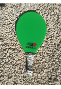 Frescobol racket Evolution series in green - RAQUETE VERDE