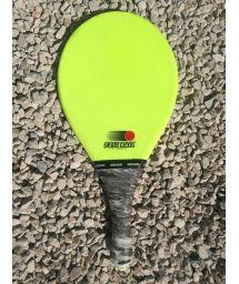 Lime green frescobol racket Fribra line - RAQUETE VERDE  CLARA