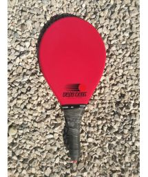 Red frescobol racket in red Evolution series - RAQUETE VERMELHA