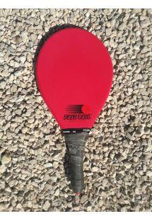 赤いエボリューションシリーズのフラスコボールラケット - RAQUETE VERMELHA
