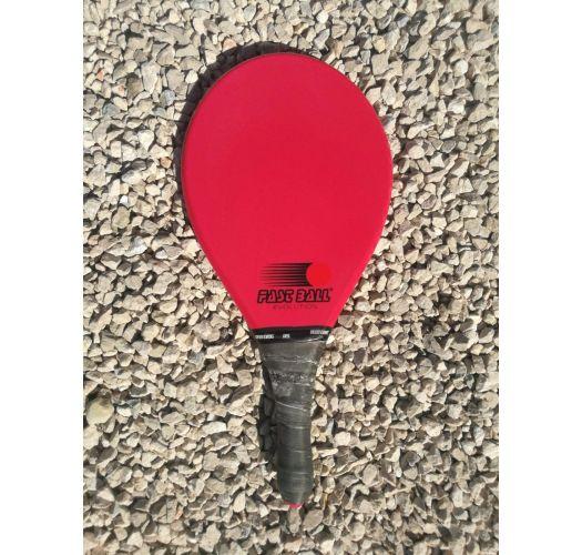 Red frescobol racket in red Evolution series - RAQUETE VERMELHA