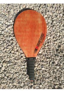 プロフェッショナルシリーズの木製フラスコボールラケット - RAQUETE VERNIZ