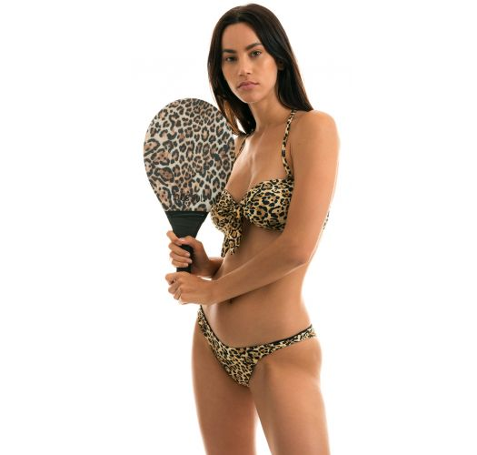 BEACH BAT RDS LEOPARDO