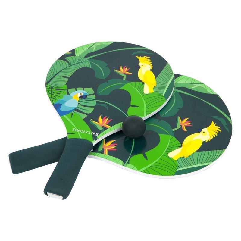 2 beach bats + tropical printed cover - BEACH BATS MONTEVERDE