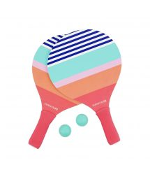 Beach rackets - colorful stripes - PADDLES CATALINA