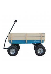 BEACH CART BLUE
