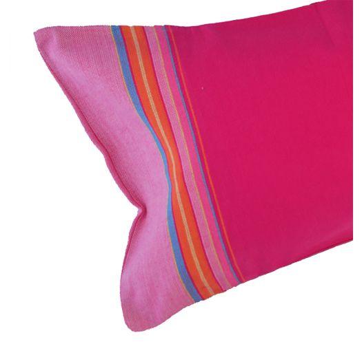 Oppustelig strandpude i pink og lyserøde nuancer - RELAX SAINT LAURENT