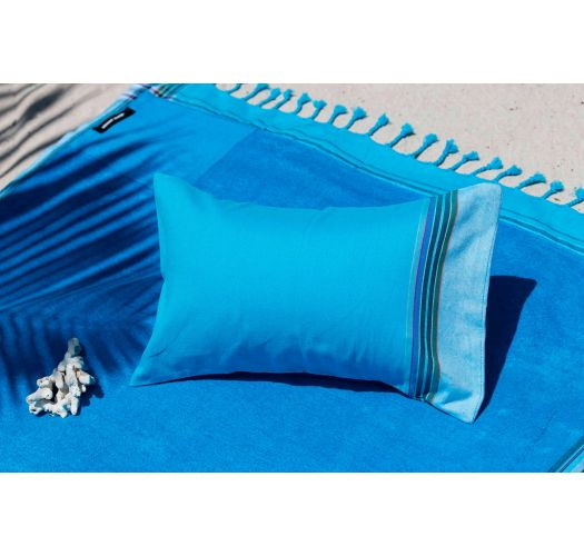 Aufblasbares Strandkissen, Bezug himmelblau - RELAX CAP FERRET