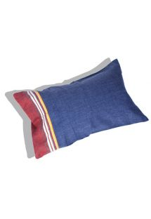 Inflatable beach cushion and dark blue cover - RELAX MALAWI