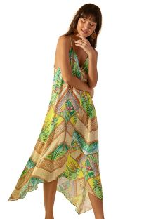 Printed long beach dress - BALI WAIMEA