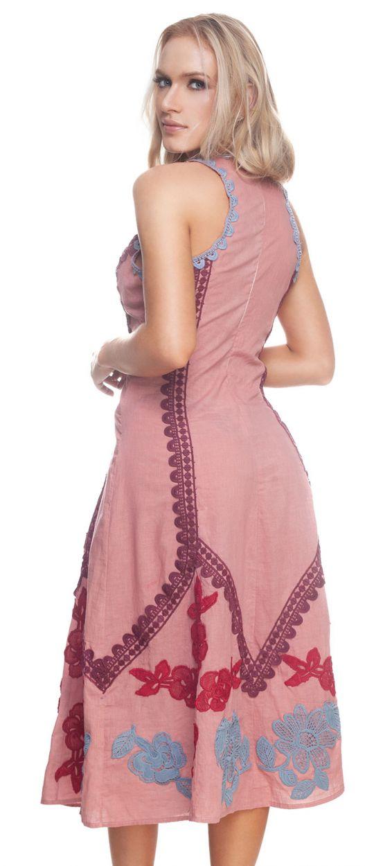 LISBON LONG DRESS ROSE GOLD