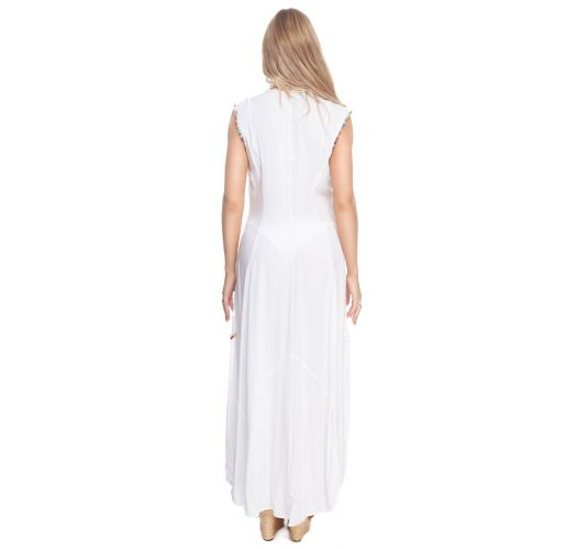 RAINBOW LONG TUNIC WHITE