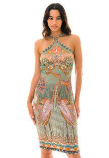 Farbenfrohes Bodycon-Kleid - VESTIDO TROPICAL
