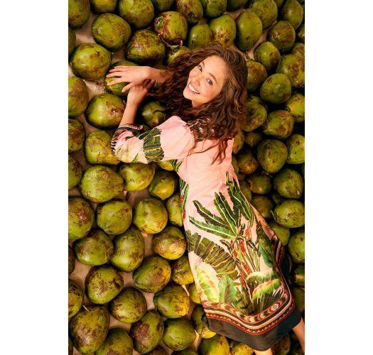 AMAZONIA FOREST MAXI DRESS