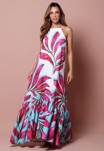 BARRED DRESS FOLIAGE