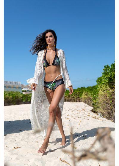 Long beach dress with openwork - SAIDA LONGA MADRUGADA