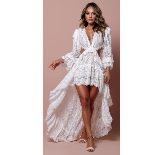 INCOME DRESS OFF-WHITE