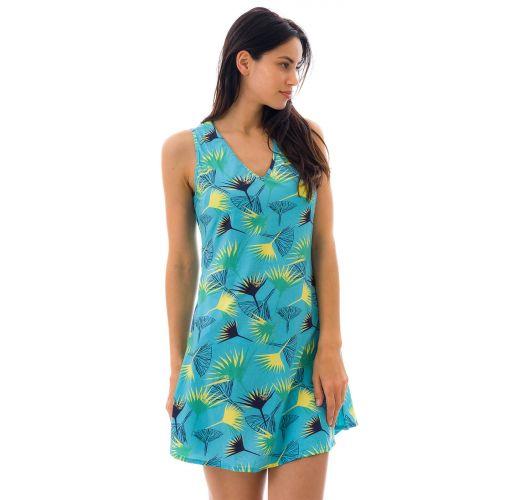 DRESS FLOWER GEOMETRIC