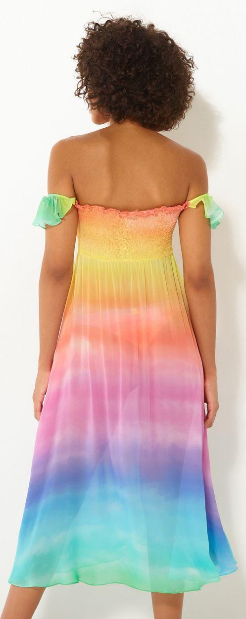 DRESS RAINBOW CLOUD