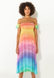 DRESS RAINBOW CLOUD