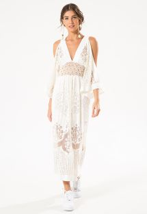 MANTRA DEVORE MIDI DRESS