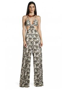 Jumpsuit-dress med tryck - JUMPSUIT SELVA